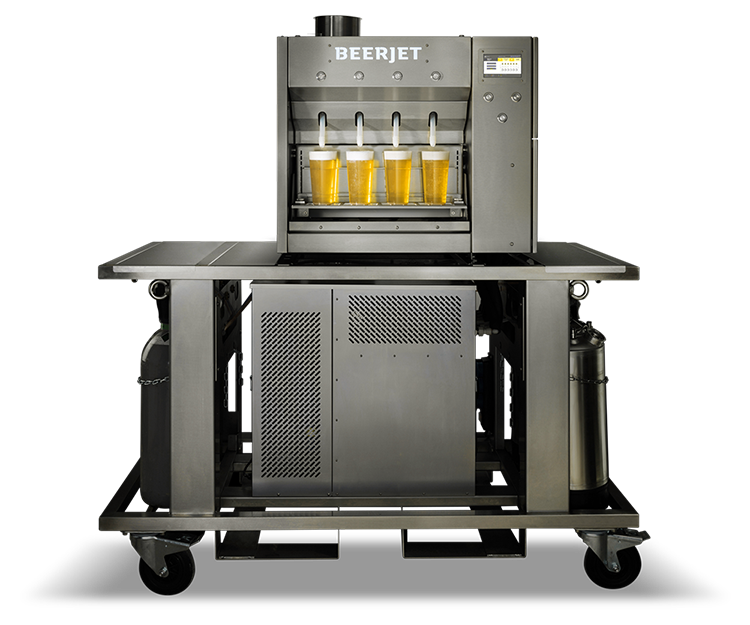 Beerjet 4 mobile, Mobile Dispenser, Mobile Beer Dispenser