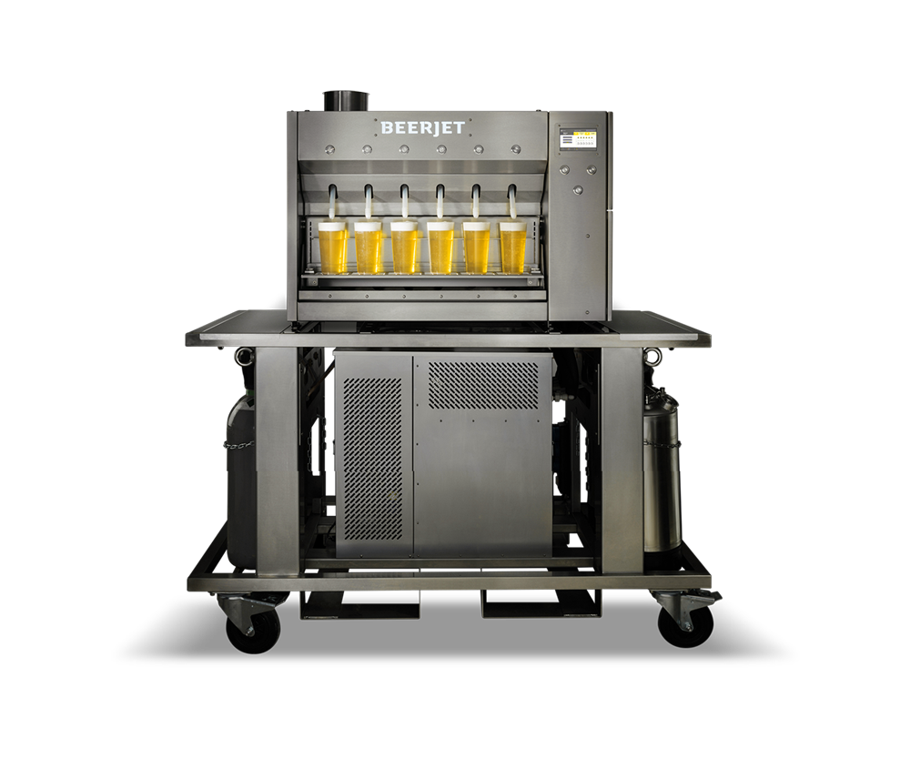 Beerjet 6 mobile, Mobile Dispenser, Mobile Beer Dispenser